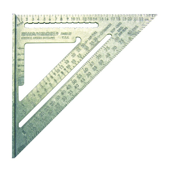 Metric Speed Square with English Packaging