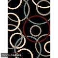 Beverly Circles Area Rug (5'3 x 7'2)