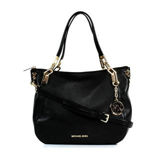 MICHAEL Michael Kors Brooke Large Black Shoulder Tote
