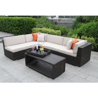 Sorano Wicker 4-piece Deep Seating Sofa Set