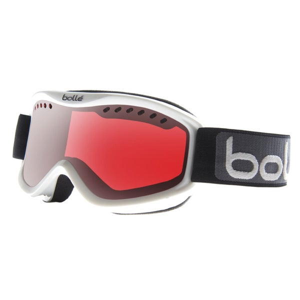 Bolle Carve Snow Goggles (Vermillon Gun Lens/White Frame)