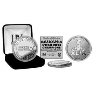 Seattle Seahawks 2014 NFC Champions Silver Mint Coin