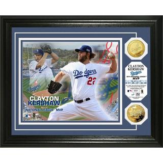 Clayton Kershaw 2014 NL MVP Gold Coin Photo Mint