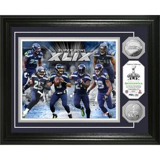 Seattle Seahawks 2014 NFC Champs Silver Coin Photo Mint