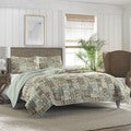 Tommy Bahama Cayman Reversible Cotton Quilt Set