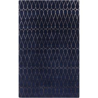 Hand-Tufted Cadence Geometric New Zealand Wool Rug (3'3 x 5'3)
