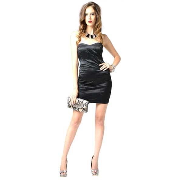 Sara Boo Sweetheart Neckline Sleeveless Dress