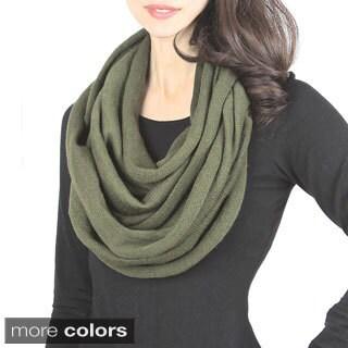 Vivid Soft Knit Infinity Scarf