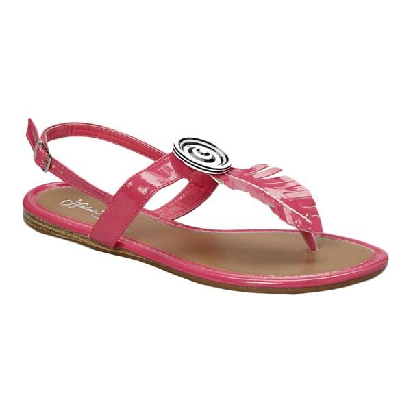 Nichole Simpson Patent Leather Sandal