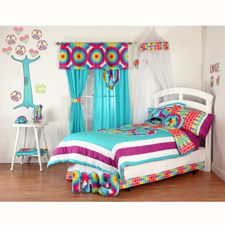 Terrific Tie Dye Comforter Set