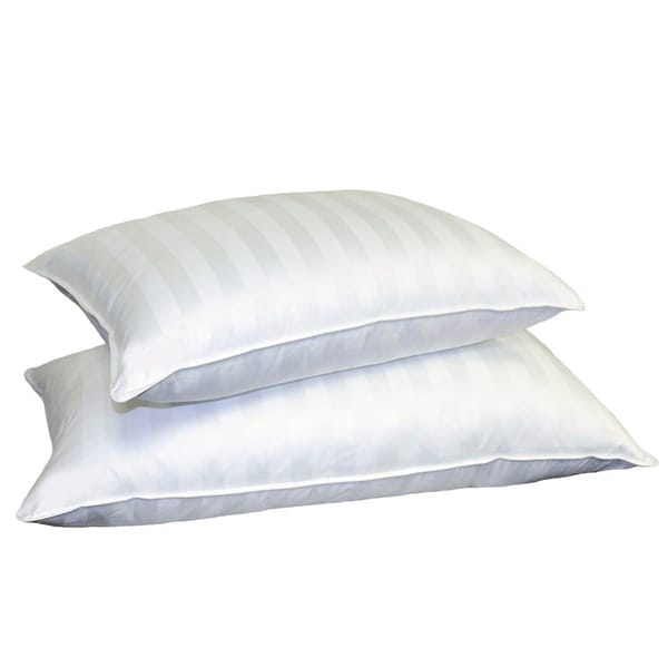 Hotel Grand Siberian White Down 500 Thread Count Pillow Jumbo (As Is Item)