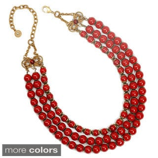 Sweet Romance Retro Southwest Three Strand Necklace