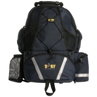 Baby Sherpa Diaper Backpack in Black