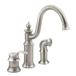 Moen Waterhill S711SRS Brushed Nickel Kitchen Faucet