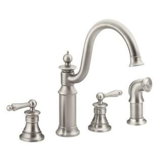 Moen Waterhill S712SRS Spot Resist Stainless Steel Kitchen Faucet