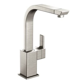 Moen S7170SRS Spot Resist Stainless Steel Kitchen Faucet