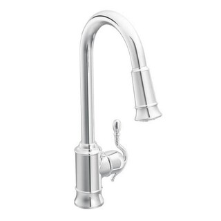 Moen Woodmere S7208C Chrome Kitchen Faucet