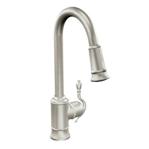moen woodmere s7208csl classic stainless steel kitchen