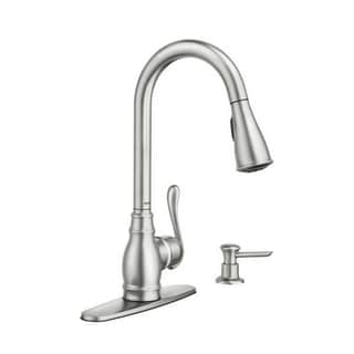 Moen Anabelle CA87003SRS Spot Resist Stainless Steel Kitchen Faucet