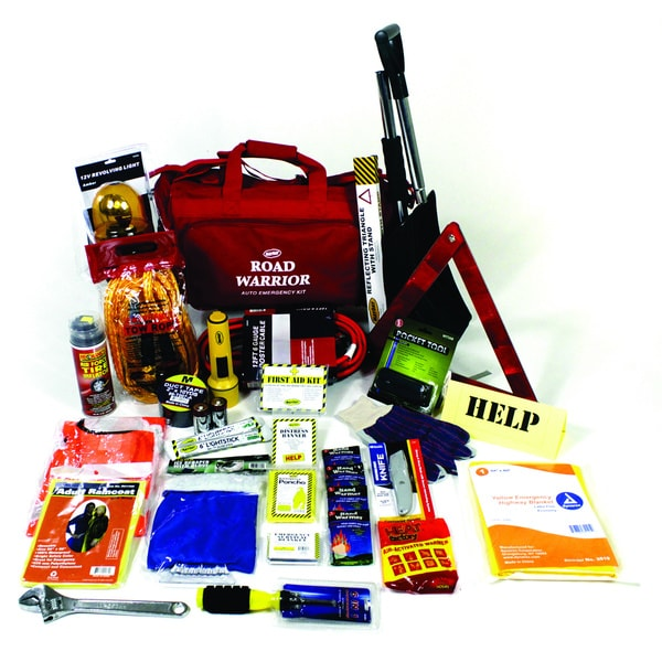 Road Warrior 10 Below Deluxe Emergency Auto Kit