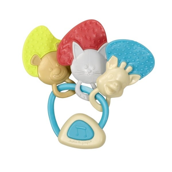 Vulli Sopie the Giraffe Friends Musical Key Rattle