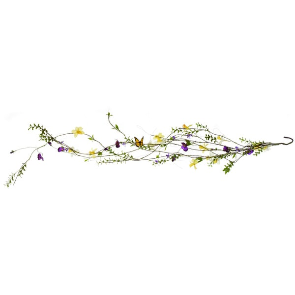 60-inch Spring Flower/ Butterfly Garland (Pack of 6)