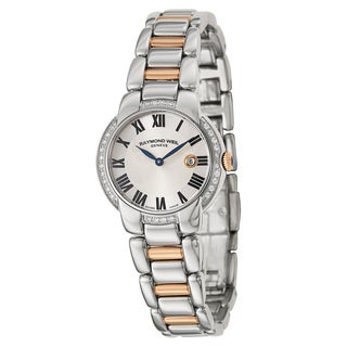 Raymond Weil Women's 'Jasmine' Stainless Steel Two-Tone Swiss Quartz Watch