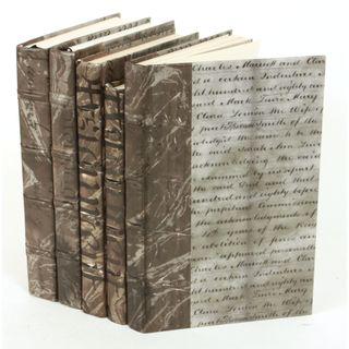 Document Collection Books, Gunmetal S/5