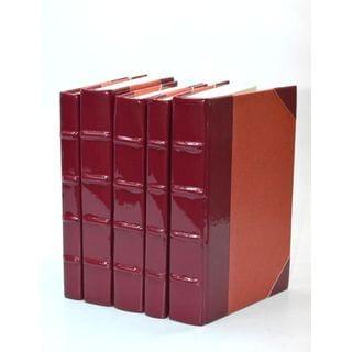 Patent Leather Books - Sangria S/5