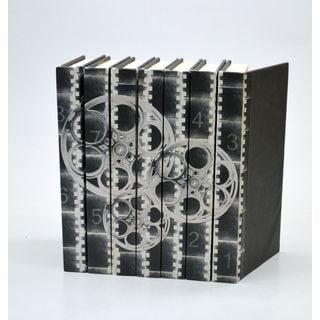Film Reels, Black & White S/7