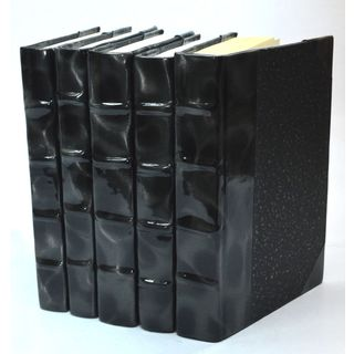 Prismatic Patent Books -Black/Silver S/5
