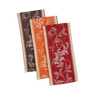 Design Imports Mixed Harvest Wheat Dishtowels (Set of 3)