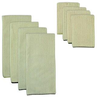 Natural Trim Microfiber Towel and Cloth Set