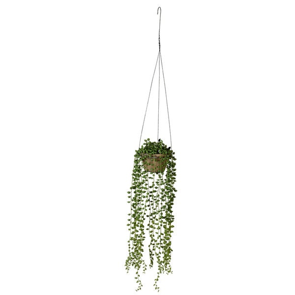 37-inch String Of Pearls Hanging Pot (Pack of 2)