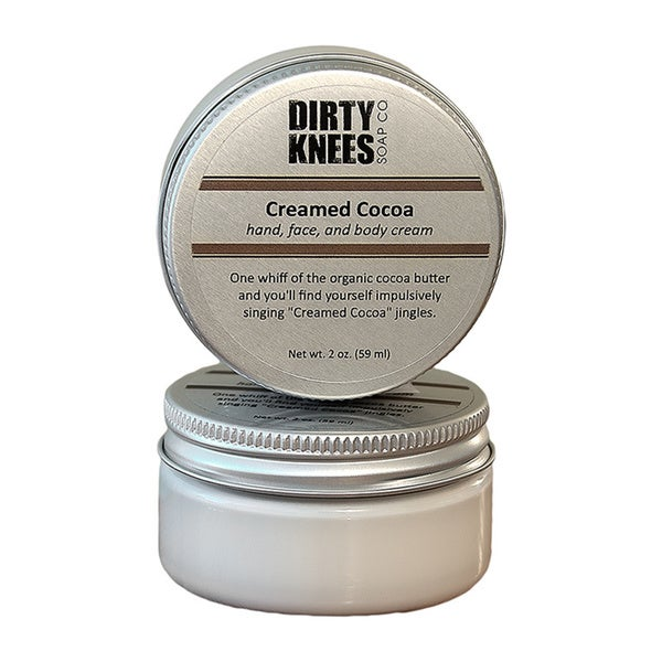 Dirty Knees Soap Creamed Cocoa Hand, Face and Body Lotion