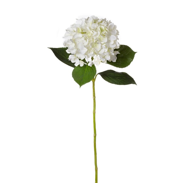 34-inch Cream Hydrangea (Pack of 6)