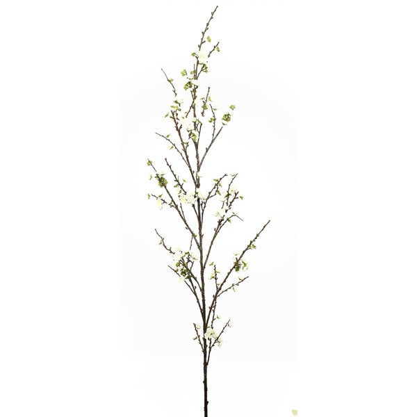 72-inch Cream Cherry Blossom Branch (Pack of 6)