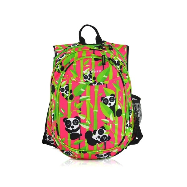 Obersee Kids Panda Pre-school Backpack With Cooler