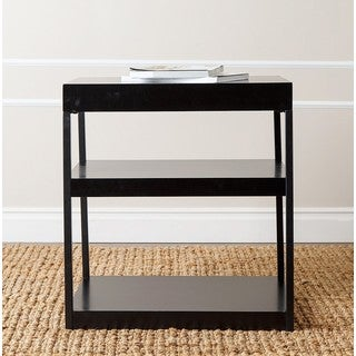 ABBYSON LIVING 'Sangster' Antique Black 3-shelf Console Table