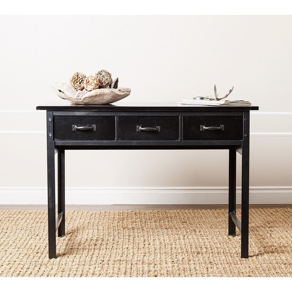 ABBYSON LIVING 'Booker' Antique Black Console Sofa Table