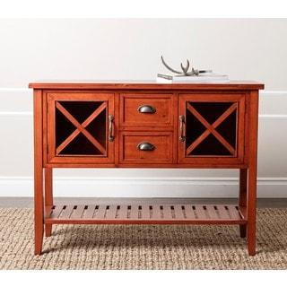 ABBYSON LIVING 'Jensen' Burgundy Rust Console Sofa Table