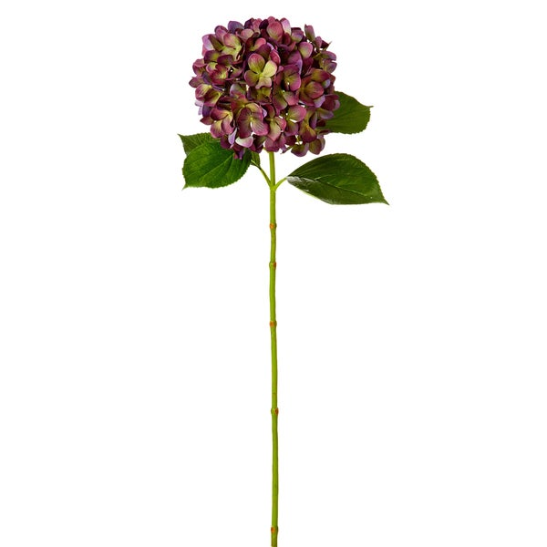 35-inch Purple Hydrangea Stem (Pack of 6)