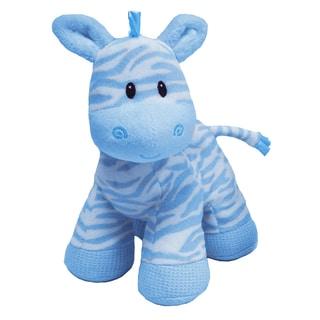 First & Main Zippy Zebra Blue