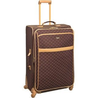 Pierre Cardin 28-inch Large Spinner Upright Suitcase