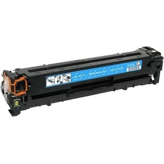 eReplacements Compatible Cyan Toner for HP CE321A, 128A