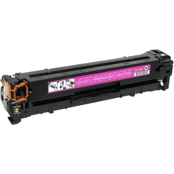 eReplacements Compatible Magenta Toner for HP CE323A, 128A