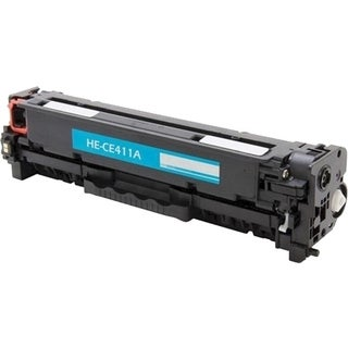 eReplacements Compatible Cyan Toner for HP CE411A, 305A