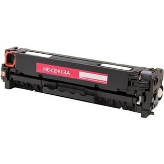eReplacements Compatible Magenta Toner for HP CE411A, 305A