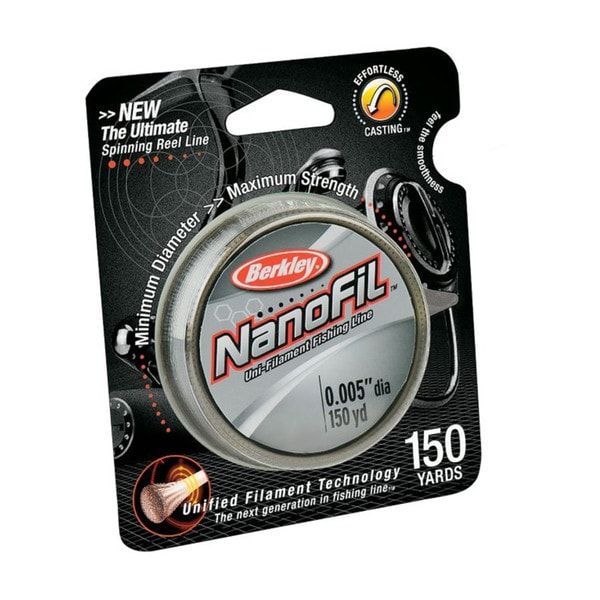 Berkley NanoFil Clear Mist 150-yard Fishing Line