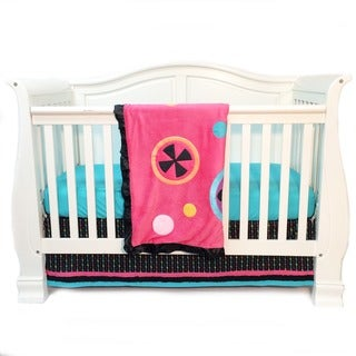 One Grace Place Magical Michayla Infant 3-piece Crib Bedding Set